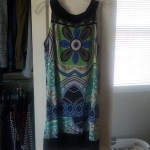 Tiana B. Sleeveless summer dress